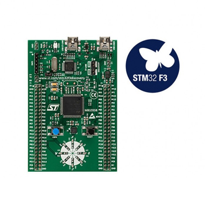 STM32F3DISCOVERY(STM32F303VC MCU)
